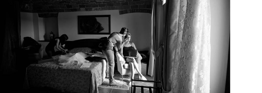 preparazione sposa serralunga d'alba