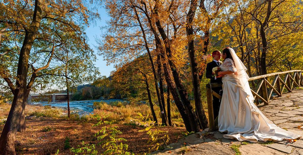 Matrimonio con i colori dell'autunno