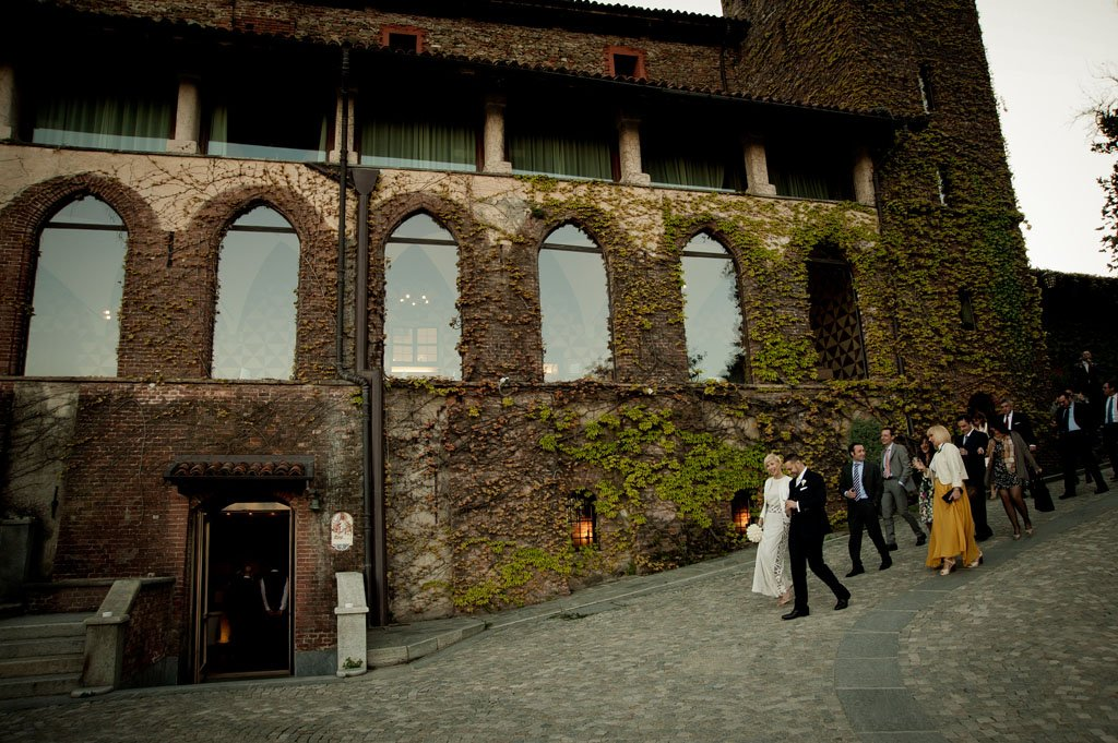 matrimonio castello dei nove merli piossasco