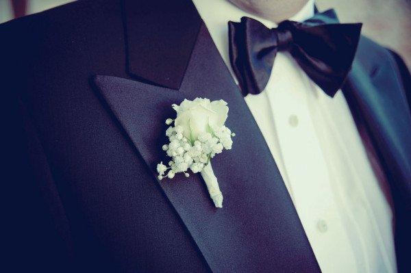 particolare sposo