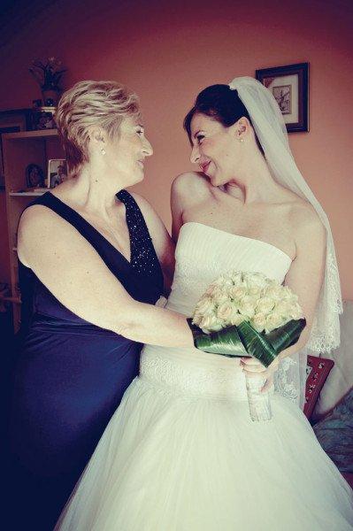 sposa con mamma