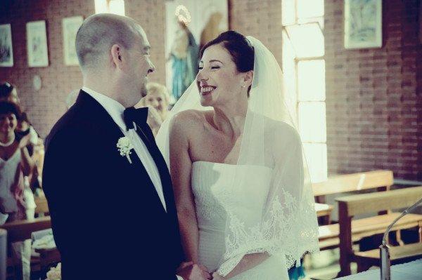 sposi felici