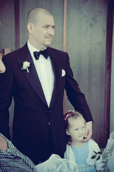 sposo con figlia
