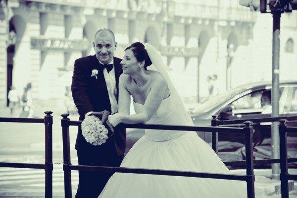 sposi piazza castello torino