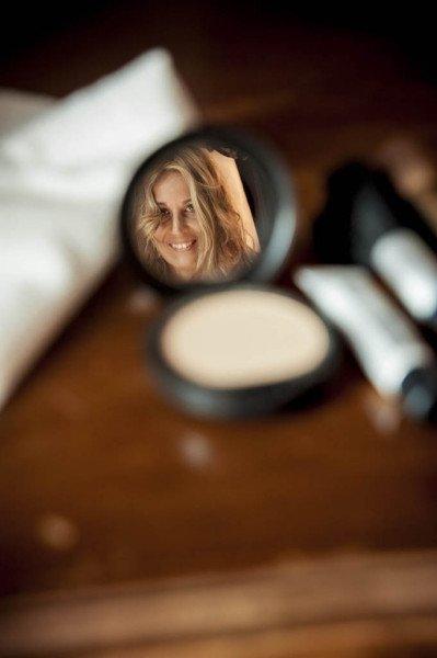 sposa allo specchio