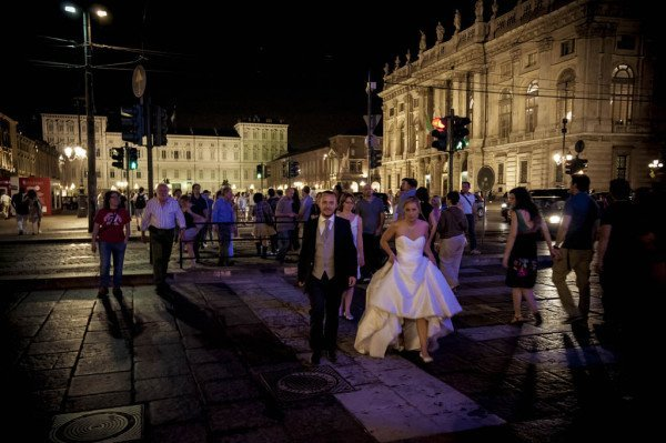 matrimonio notturno torino